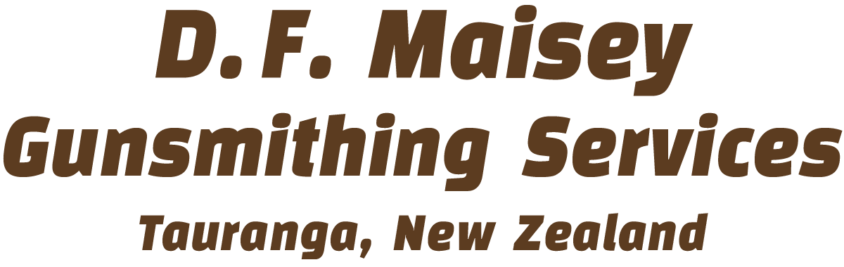 D.F. Maisey Gunsmithing Services logo