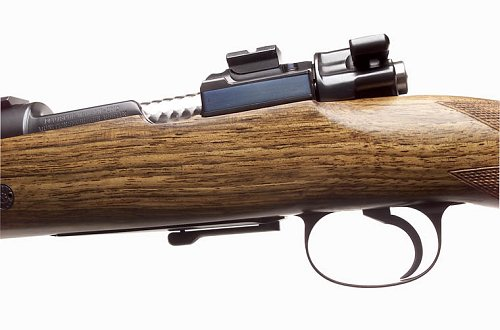 custom gun - classic style of the older hunting rifles